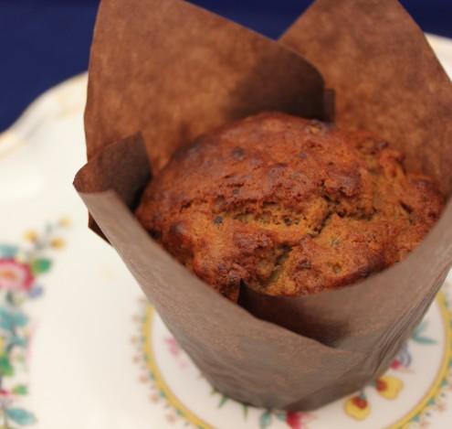 Coffee & Avocado Muffins