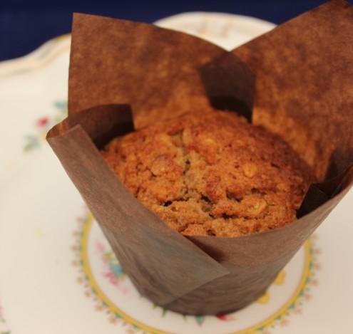 Oat & Cinnamon Muffins