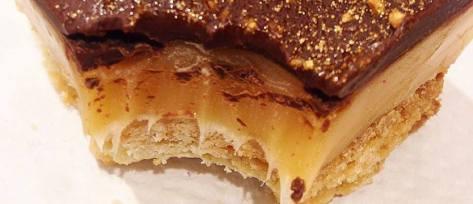 Salted Caramel Millionaire's Shortbread Slice2