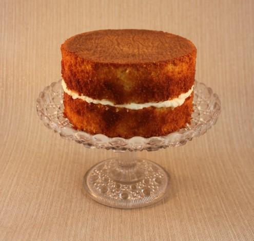 Lemon Drizzle Cake Naked