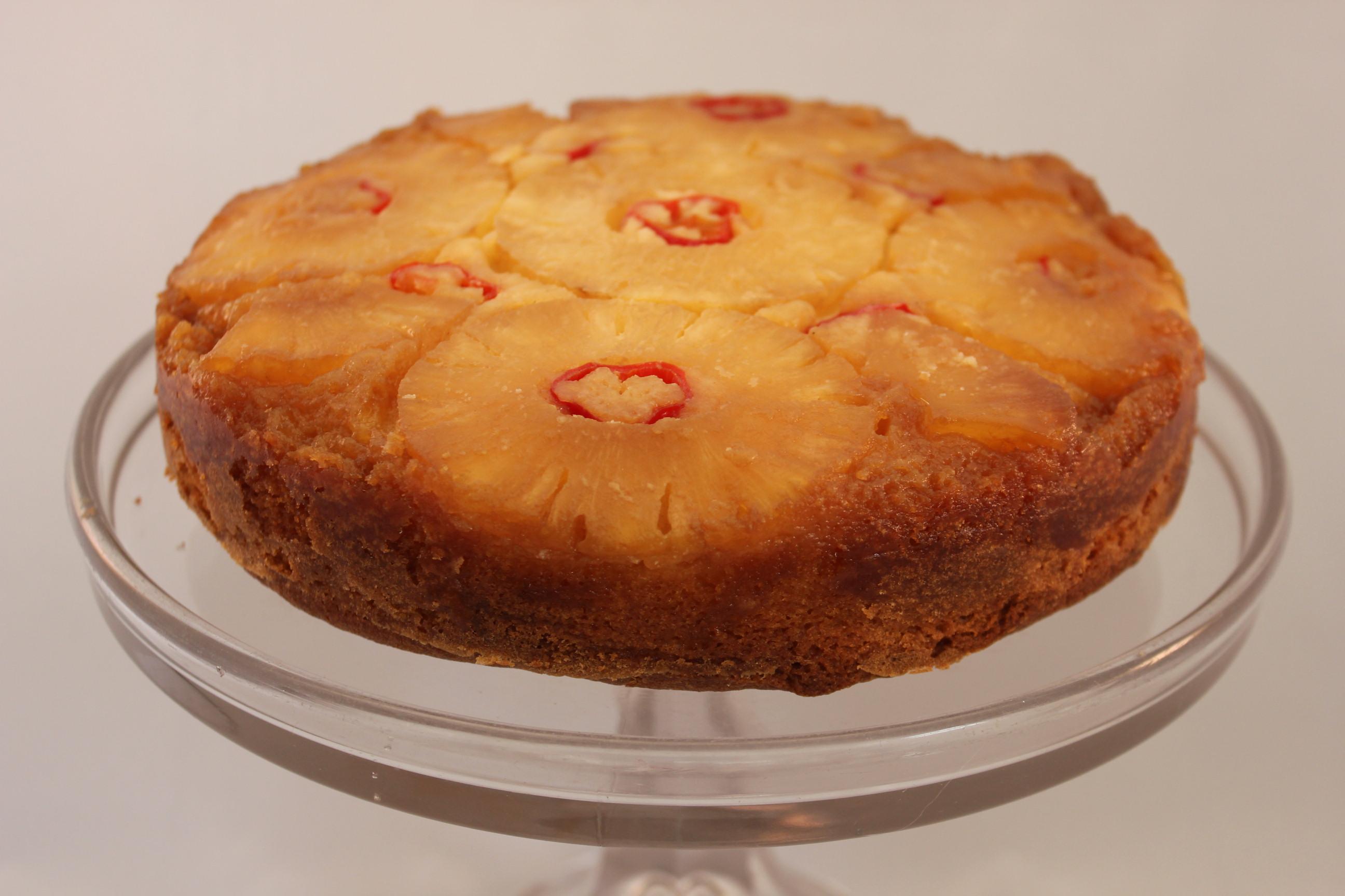 Pineapple Chilli Cake