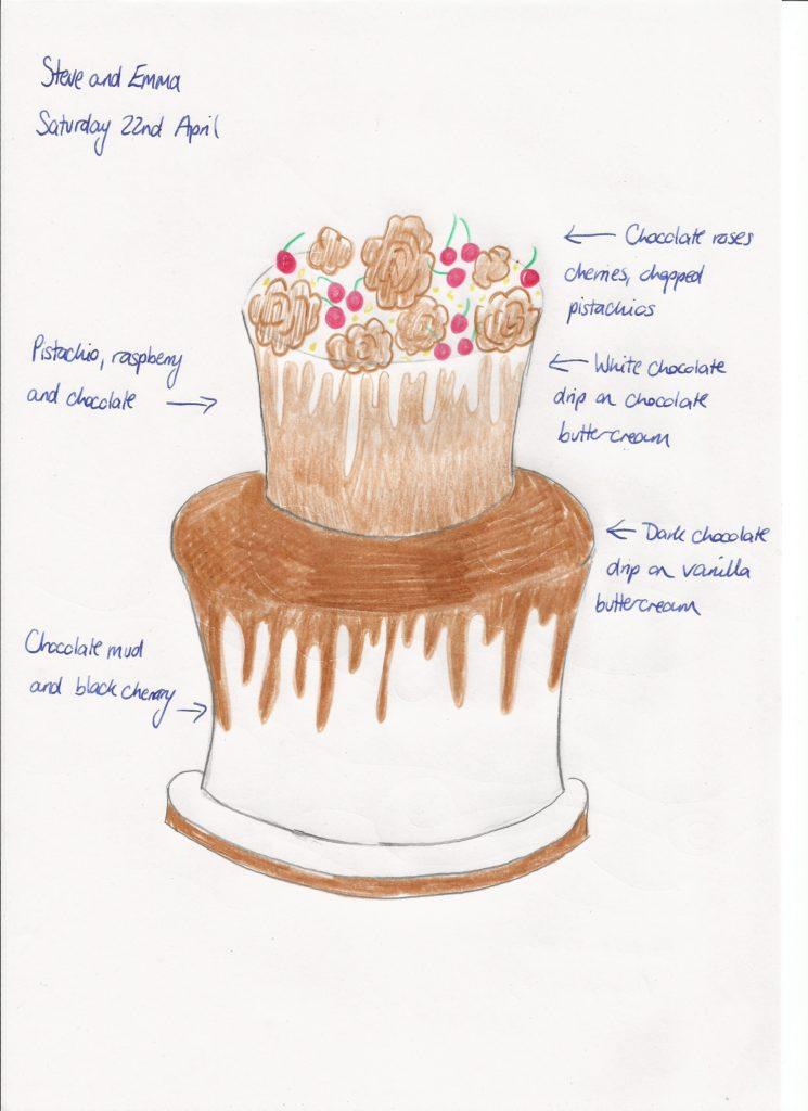 Wedding Cake Wednesday Chocolate Drip Cake Restoration Cake